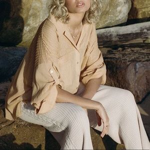 Spell and the Gypsy NWT Linda Blouse in Clay - XXL
